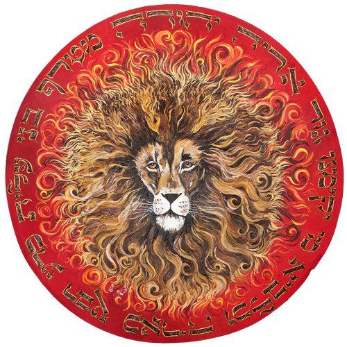 תופים של לאה טל - תוף שאגת אריה